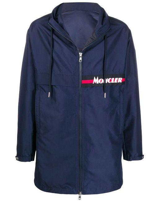 Куртка Ildut Из Нейлона Moncler для него, цвет: Blue