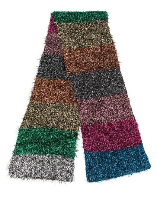 Faliero Sarti ストライプ スカーフ Multicolor