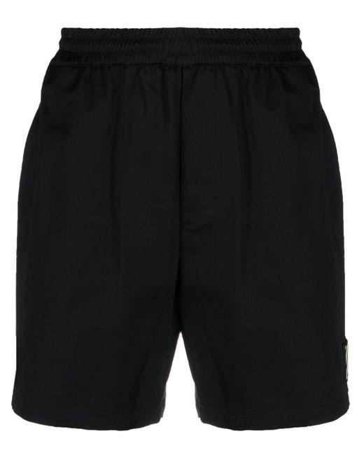 メンズ Low Brand イージーショートパンツ Black