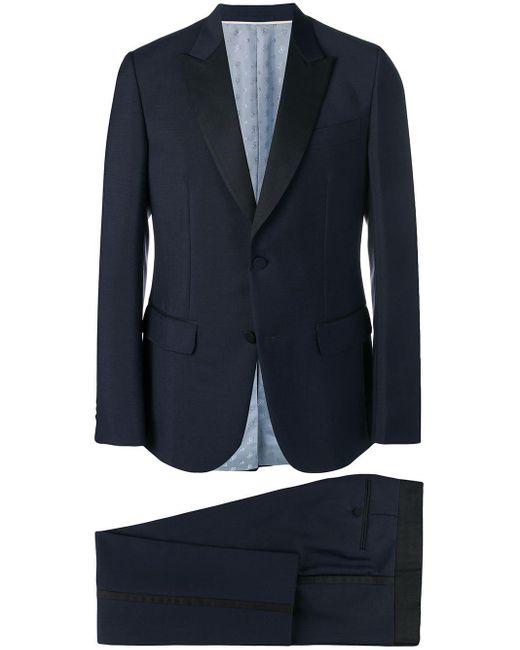 メンズ Gucci ツーピース ディナースーツ Blue