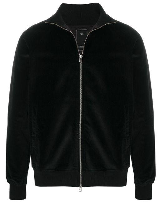 メンズ Maharishi ベルベットジャケット Black