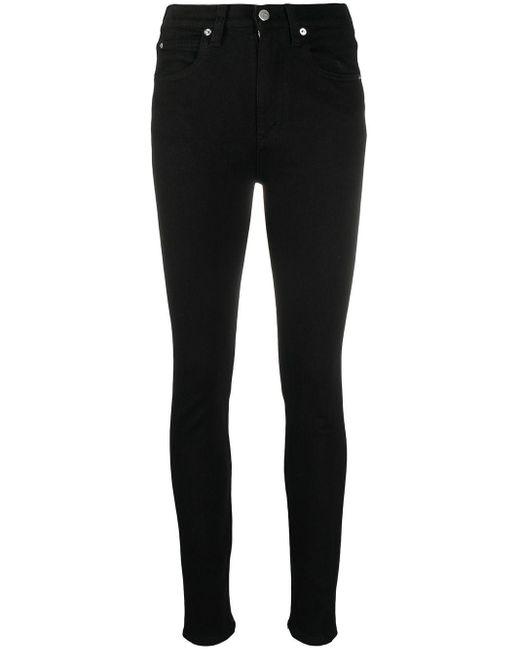 Victoria, Victoria Beckham Black Skinny Jeans