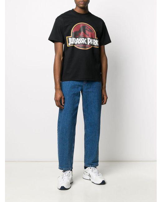 メンズ Gcds コットンジャージーtシャツ Black