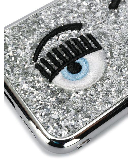 Chiara Ferragni Flirting Eye Iphone 11 ケース Metallic