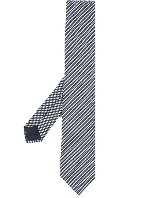 メンズ Giorgio Armani ストライプ ネクタイ Blue