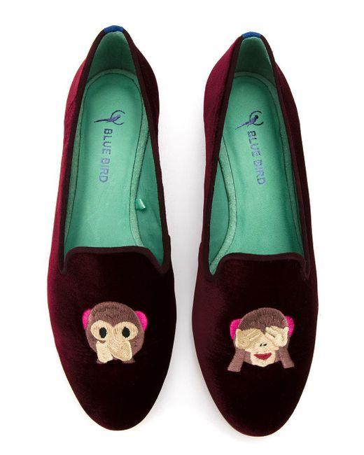 Blue Bird Shoes Monkey ローファー Multicolor