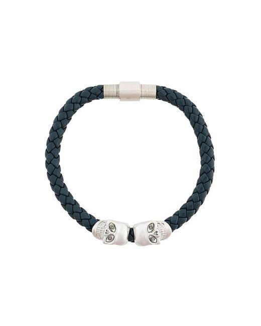 Northskull - Blue Skull Bracelet - Lyst