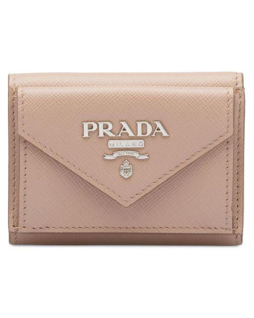Prada サフィアーノ 財布 Multicolor