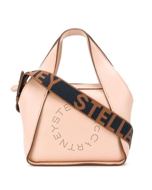 Stella McCartney ステラロゴ ハンドバッグ Natural