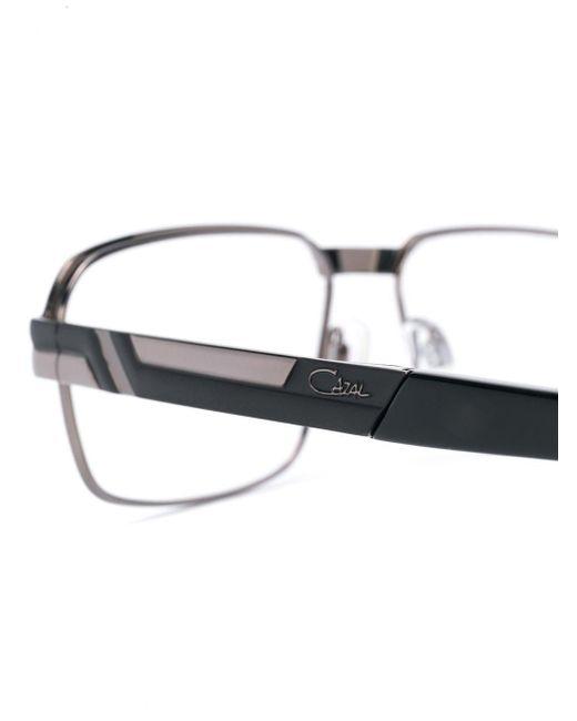 メンズ Cazal スクエア眼鏡フレーム Multicolor
