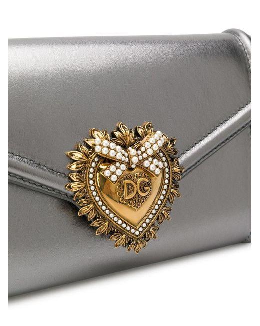 Dolce & Gabbana Devotion ベルトバッグ Metallic