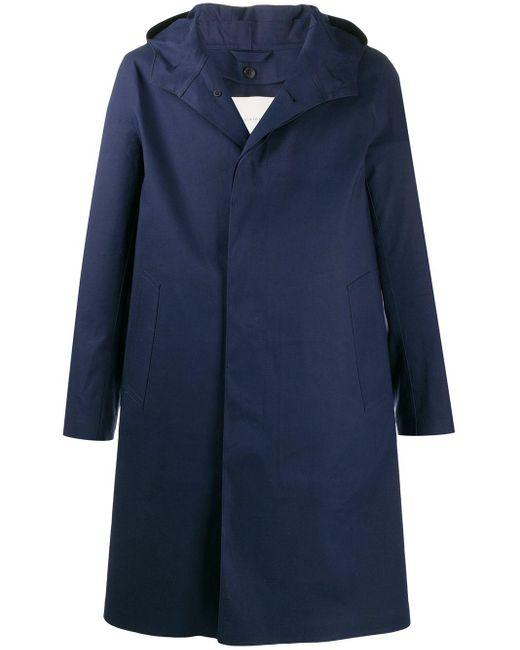 メンズ Mackintosh Chryston レインコート Blue