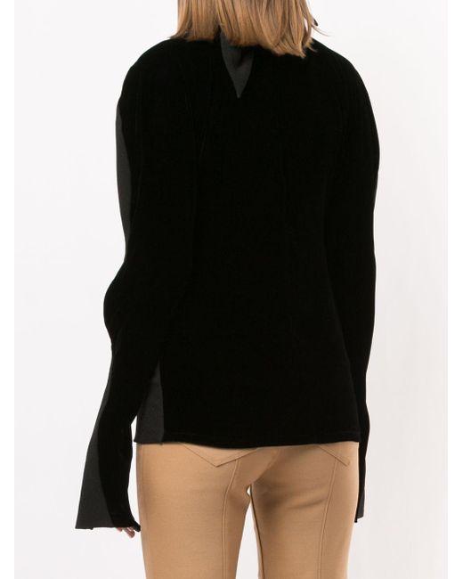 Блузка С Объемными Рукавами Proenza Schouler, цвет: Black