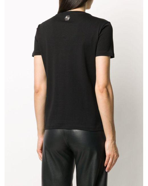 Philipp Plein スパンコール Tシャツ Black