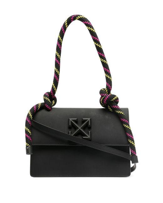 Off-White c/o Virgil Abloh Black 'Gummy 1.4 Jitney' Handtasche