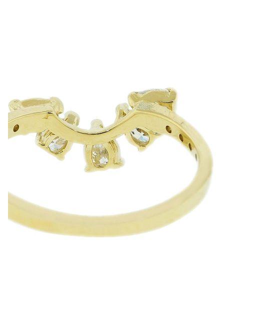 Jacquie Aiche ダイヤモンド リング 14kイエローゴールド Metallic