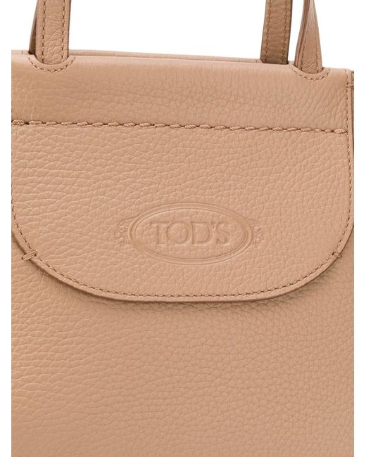Tod's ロゴ トートバッグ Multicolor