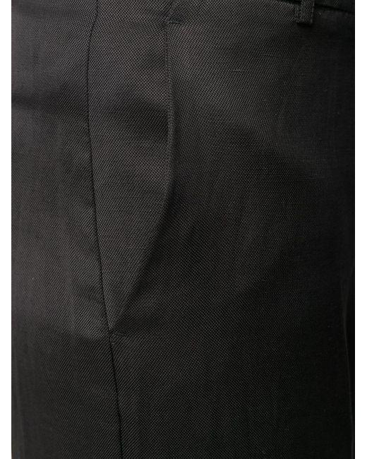 Укороченные Брюки Чинос Twin Set, цвет: Black