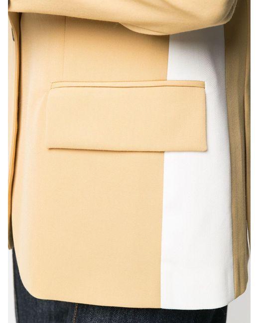 Ports 1961 バイカラーシングルジャケット Yellow