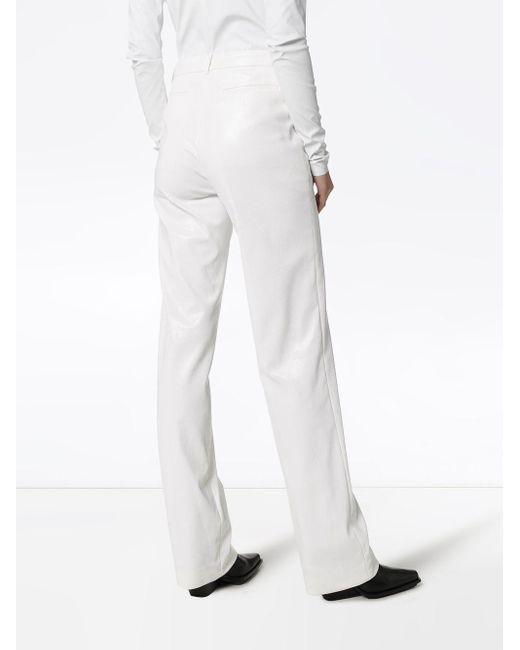 we11done ストレート パンツ White