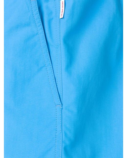 Orlebar Brown Men's Blue Straight-leg Swim Shorts