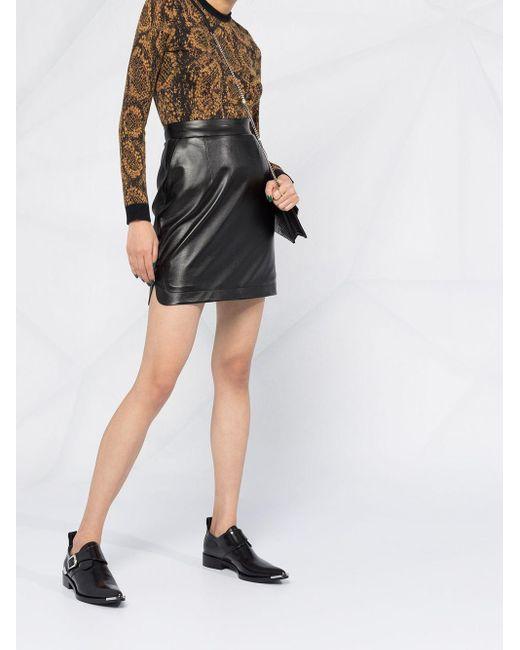 Джемпер Жаккардовой Вязки Saint Laurent, цвет: Black