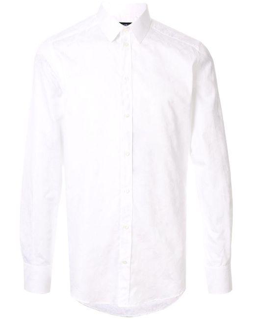 メンズ Dolce & Gabbana スリムフィット シャツ White