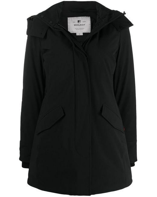 Woolrich フーデッドコート Black