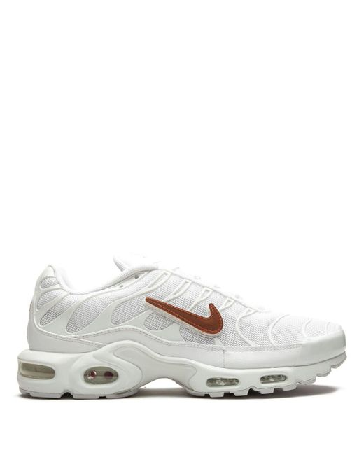 Nike White Air Max Plus Sneakers for men