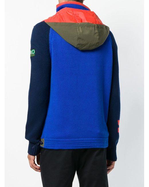 メンズ Polo Ralph Lauren ジップアップ セーター Blue