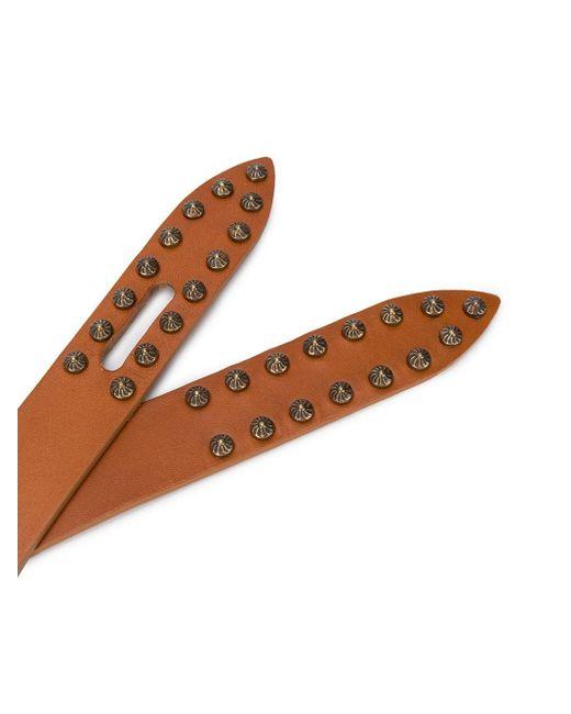 Ремень С Заклепками Isabel Marant, цвет: Brown