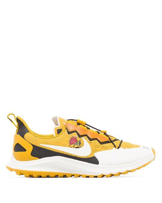 Nike Air Zoom Pegasus 36 Trail Gyakusou スニーカー Yellow