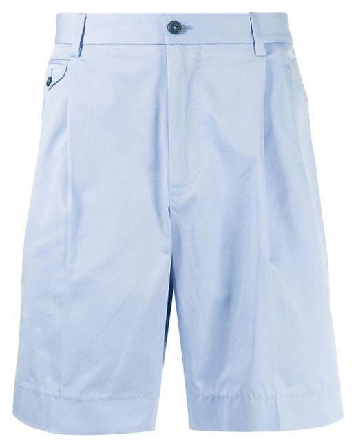 Шорты-бермуды С Нашивкой-логотипом Dolce & Gabbana для него, цвет: Blue