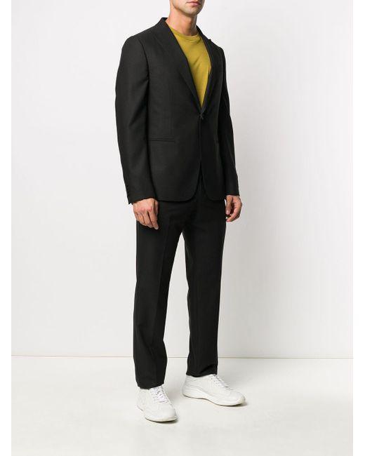 メンズ Z Zegna ツーピース スーツ Black