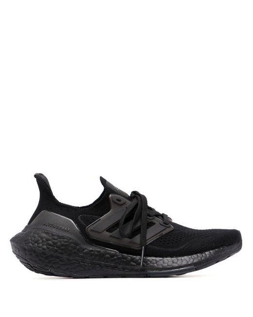 メンズ Adidas Ultraboost ローカット スニーカー Black