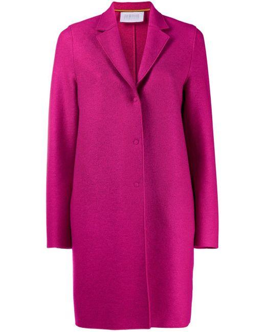 Harris Wharf London シングルコート Pink