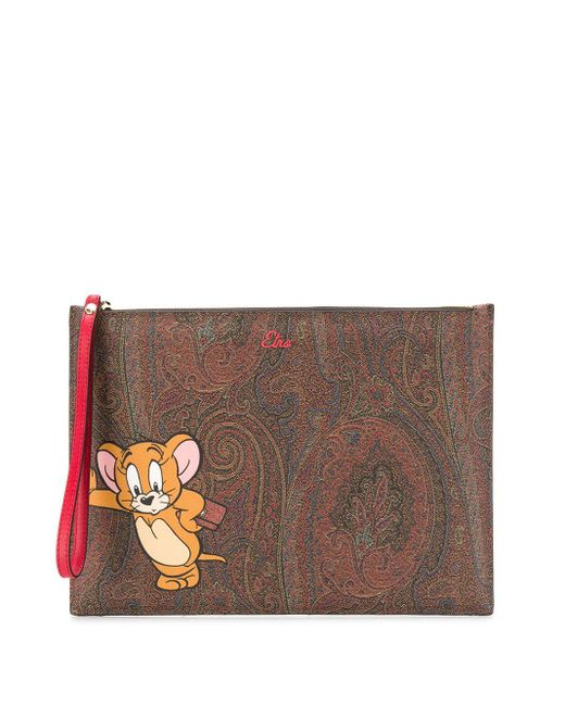 Etro X Tom And Jerry クラッチバッグ Multicolor