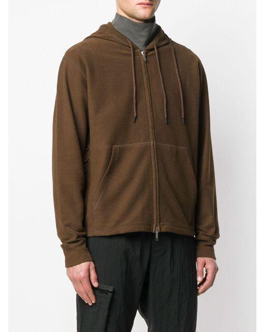 Sudadera con capucha y cordones Craig Green de hombre de color Brown