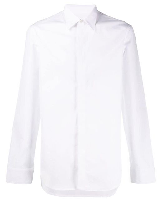 Maison Margiela White Classic Cotton Shirt for men