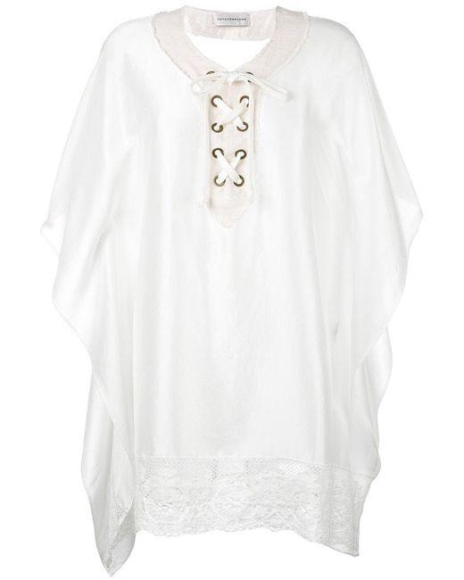 Faith Connexion | White Shirt Dress | Lyst