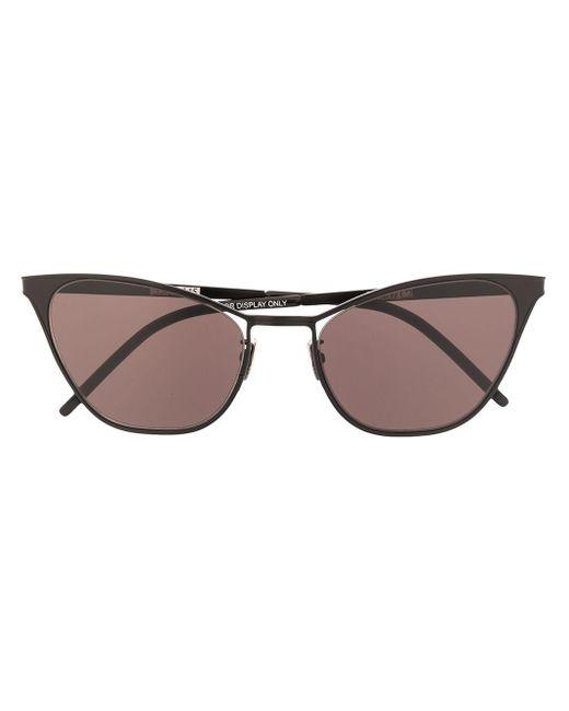 Солнцезащитные Очки Sl 409 В Оправе 'кошачий Глаз' Saint Laurent, цвет: Black