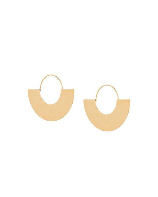 Ca&Lou - Metallic Hoop Earrings - Lyst