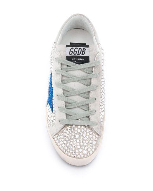 Кеды Superstar Golden Goose Deluxe Brand, цвет: Gray