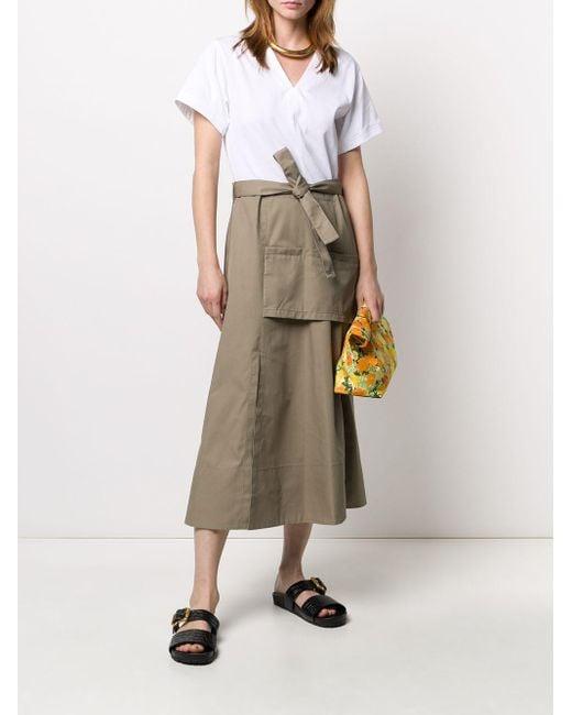3.1 Phillip Lim ショートスリーブ ドレス Multicolor