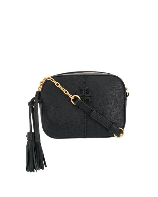 Tory Burch Mcgraw カメラバッグ Black