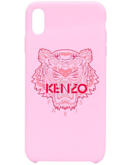 KENZO ロゴ Iphone X ケース Pink