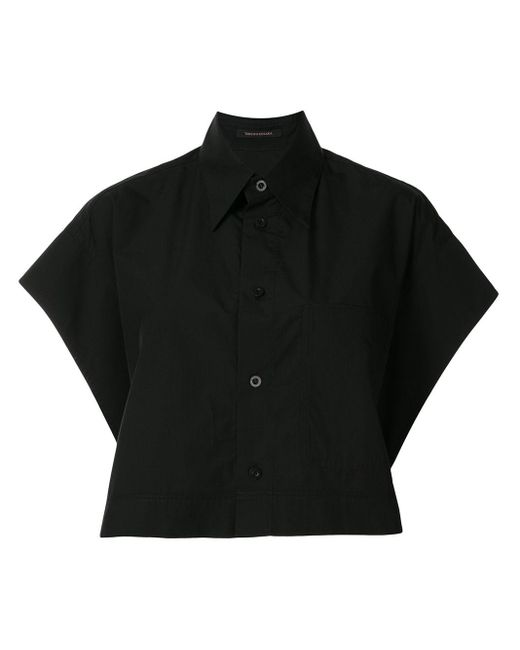 Y's Yohji Yamamoto クロップド シャツ Black