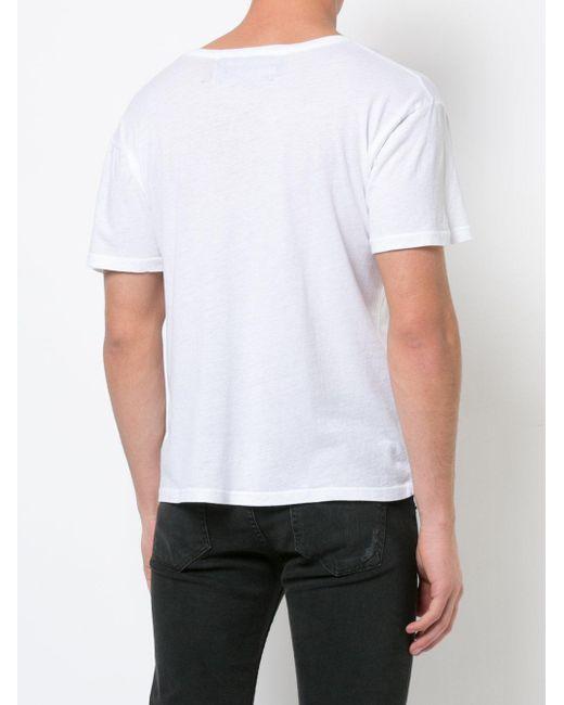 enfants riches deprimes valet ticket t shirt in white for. Black Bedroom Furniture Sets. Home Design Ideas