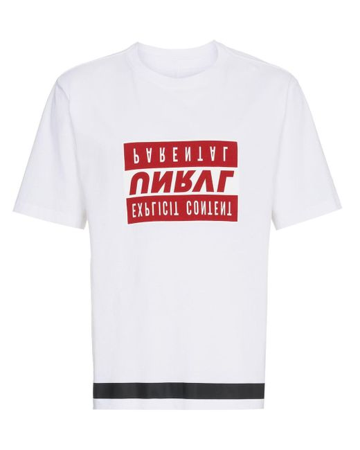 メンズ Unravel Project プリント Tシャツ Multicolor