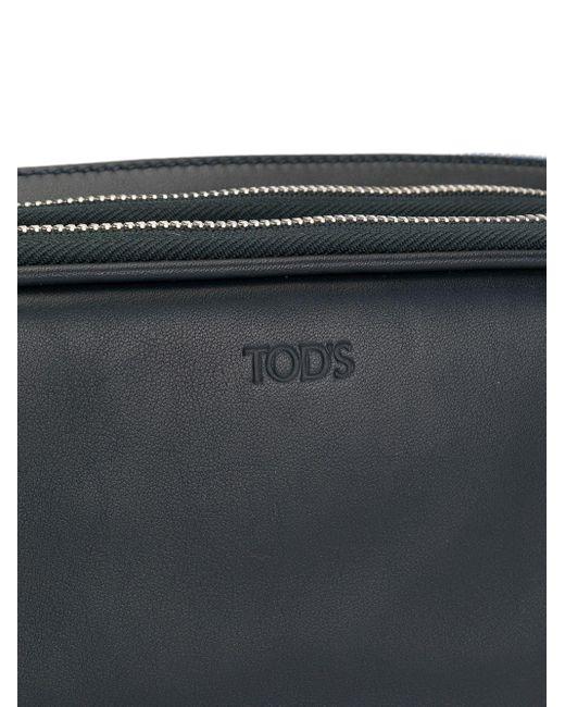 メンズ Tod's ロゴ ベルトバッグ Black